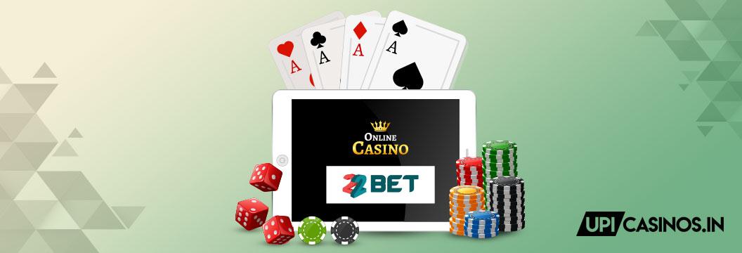 22bet online casino India