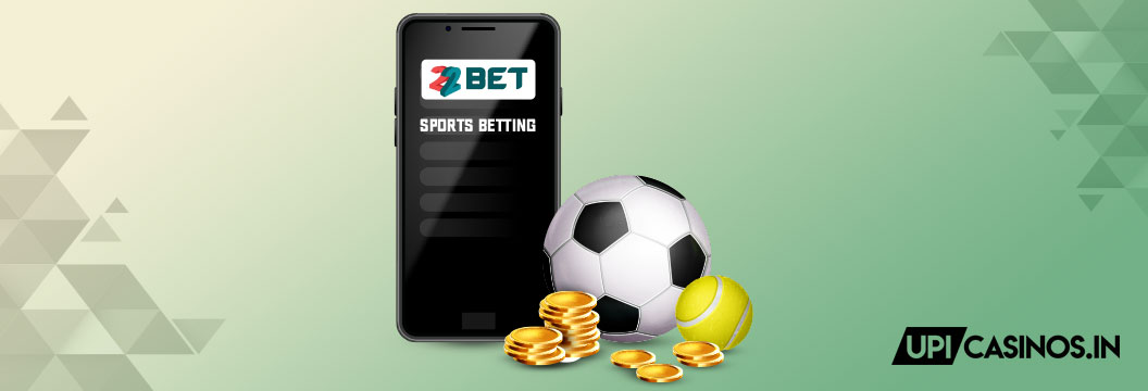 sports betting at 22bet
