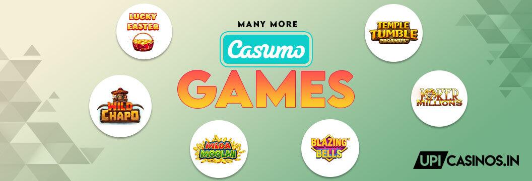 Games at Casumo India