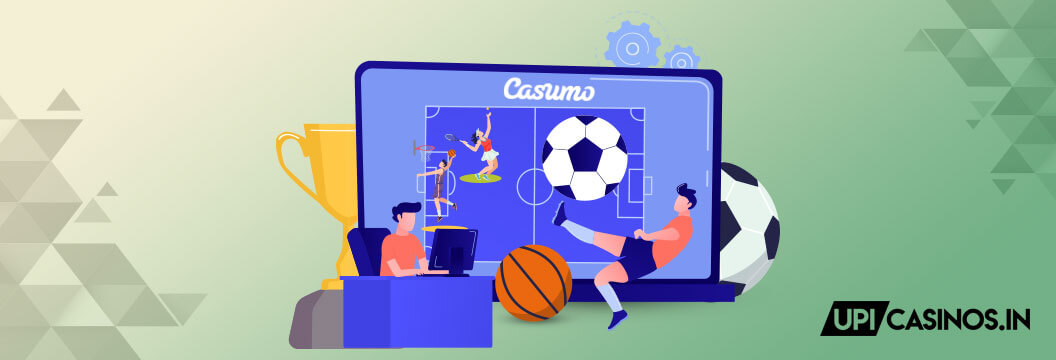 Sports betting at Casumo India