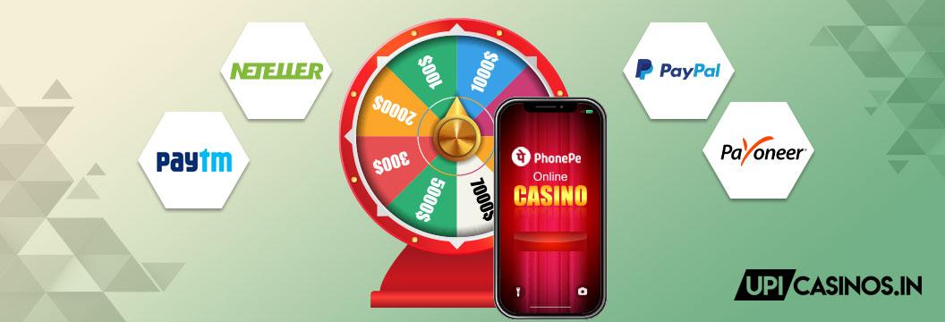 phonepe casino alternatives