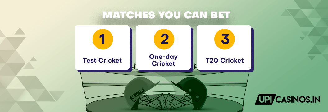 types of matches you can bet on via google pay