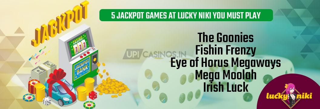 lucky niki jackpot games