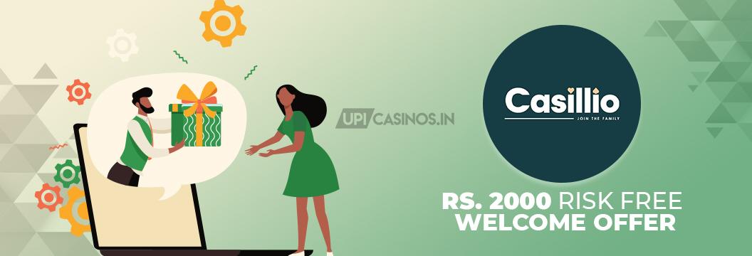risk free bonus at casillio